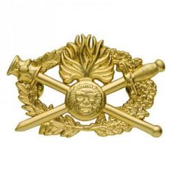 Insigne métal Brevet Diplôme d'Arme Qualification Supérieure