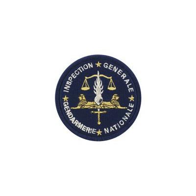 Ecusson Inspection Générale de la Gendarmerie Nationale