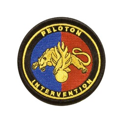 Ecusson Peloton Intervention Gendarmerie