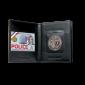 Porte-carte Force de l'ordre horizontal 3 volets GK Pro