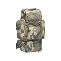 Sac à dos militaire camouflage 65 litres avec sur sac