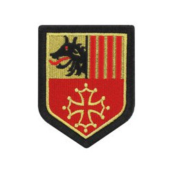 Ecusson de région Languedoc Roussillon
