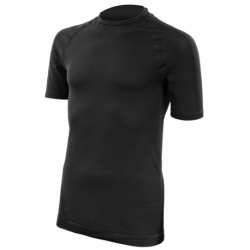 Tee-Shirt thermorégulant col rond noir