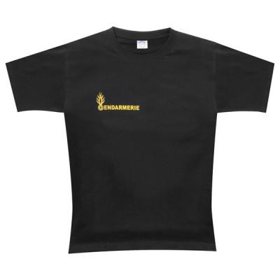 Tee Shirt noir Gendarmerie