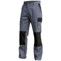 Pantalon de Travail Gris | Polycoton