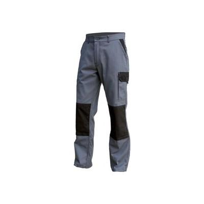 Pantalon TYPHON gris/noir