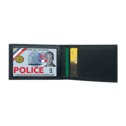 Porte cartes mini horizontal 2 volets de GK Pro