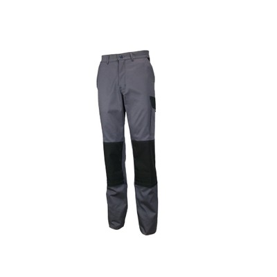 Pantalon de travail | Gris | spécial été | Poches genoux