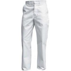 Pantalon de travail | 100% coton 330g | Blanc