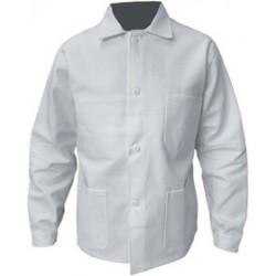 Veste de travail 100% coton | Blanc | 330 g