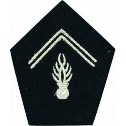 Ecussons de col pour Vareuse Gendarmerie