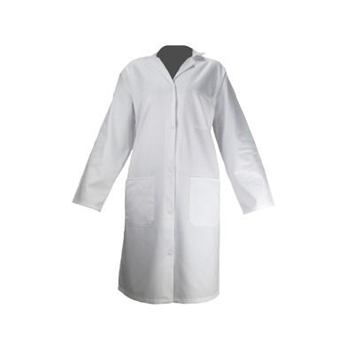 Blouse médicale blanche pour Femme - 100% coton