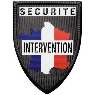 Ecusson sécurité intervention
