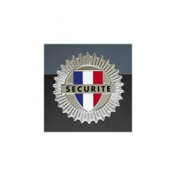 Médaille en métal Agent de Sécurité | Porte carte