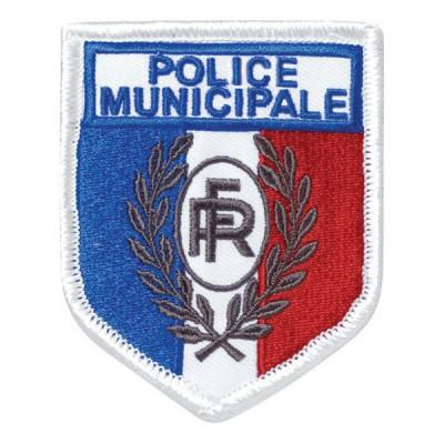 Ecusson soie Police Municipale