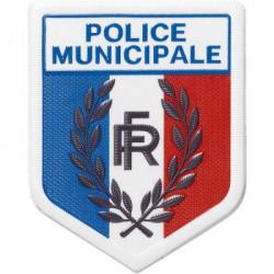 Ecusson Police Municipale plastifié