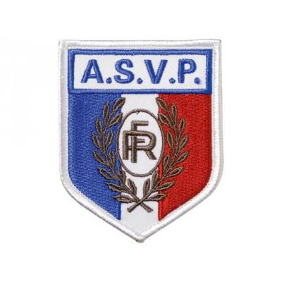 Ecusson soie A.S.V.P