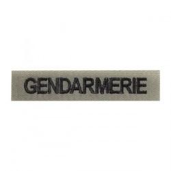 Bande patronymique | Vert armée | Gendarmerie