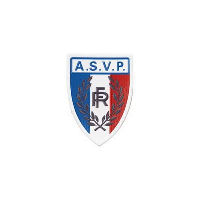 Grand écusson plastique rigide | ASVP