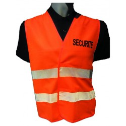 Gilet haute visibilité SECURITE