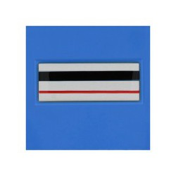 Galon de Poitrine Plastifié Police Municipale Chef de Police