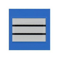 Galon de Poitrine Plastifié Police Municipale Chef de Service 1° Classe