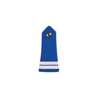 Pattes d'Epaules Bouton Police Municipale Chef de Service 2° Classe