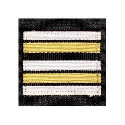 Galon de Poitrine Souple Lieutenant Colonel Sapeurs Pompiers