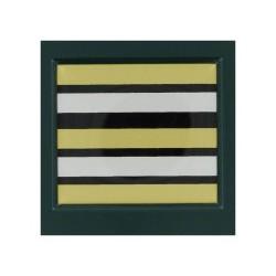 Galon de Poitrine Plastifié Lieutenant Colonel Pharmacien Sapeurs Pompiers