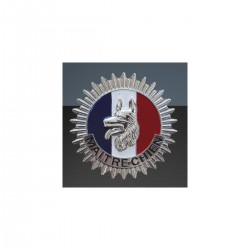 Médaille Maître Chien en métal | Porte carte