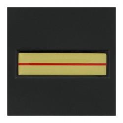 Galon de poitrine plastifié Gendarmerie Adjudant