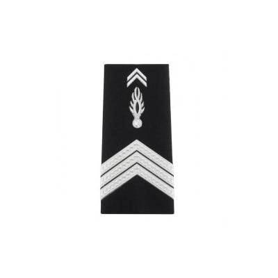 Fourreaux rigides Gendarmerie Maréchal des Logis Chef