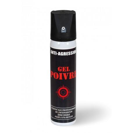 Aérosol de défense 75 ml au gel poivre
