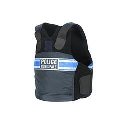 Housse gilet pare balles | Port discret | Police Municipale
