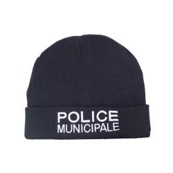 Bonnet brodé marine | Police Municipale