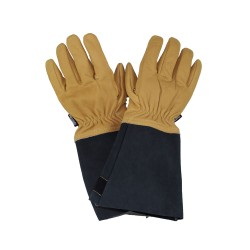 Gants incendie tout cuir avec sous gants kevlar