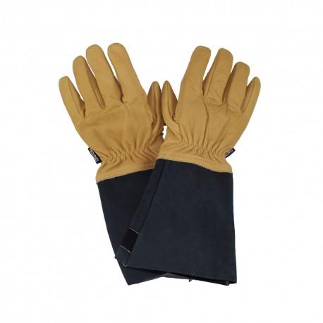 Gants Incendie en Kevlar | Tout cuir avec sous gants
