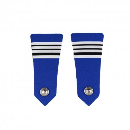 Pattes d'Epaules Bouton Police Municipale Directeur