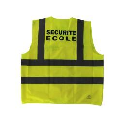 Gilet Haute visibilité Sécurité Ecole