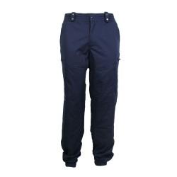 Pantalon satiné coupe ajustée Police Municipale