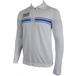 Sweat shirt Thermorégulant blanc Police Municipale