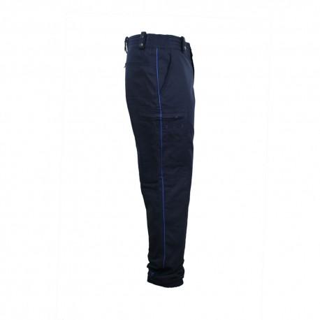 Pantalon mat coupe ajustée Police Municipale