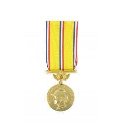 Médaille d'ancienneté des Sapeurs Pompiers Or 30 ans
