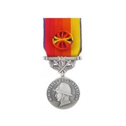 Médaille Sapeurs Pompiers pour Services Exceptionnels Argent