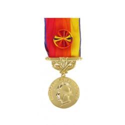 Médaille Sapeurs Pompiers pour Services Exceptionnels Vermeil