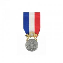 Médaille pour acte de courage et de dévouement 1° classe Argent