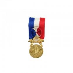 Médaille pour acte de courage et de dévouement Or