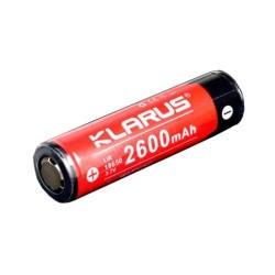 Batterie Klarus | Rechargeable | 18650 li-ion 3.7v 2600mah