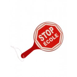 Palette double face STOP ECOLE
