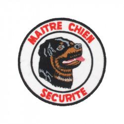 Ecusson Maitre chien Rottweiler